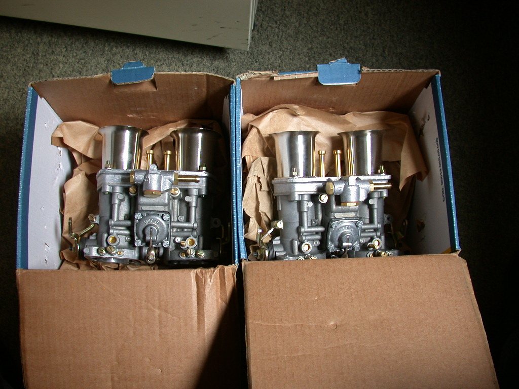 new carbs for ollies race engine